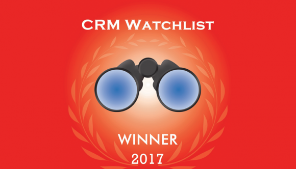 Thunderhead is CRM watchlist Winner in 2017