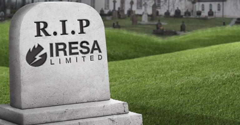 RIP, Iresa: energy reminded to beware the wrath of the customer