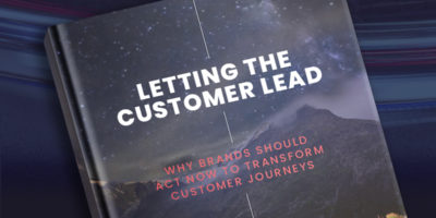 LETTING THE CUSTOMER LEAD: MARKETING WEEK & THUNDERHEAD REPORT
