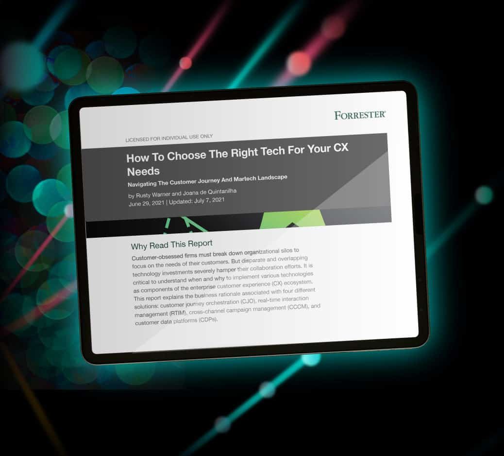 Forrester CX report